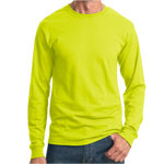 Jerzees 50/50 Cotton/Poly Long Sleeve T-Shirt, 5.6 oz.