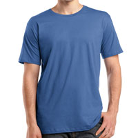 District Threads Short Sleeve Perfect Weight Tee, 4.3 oz.